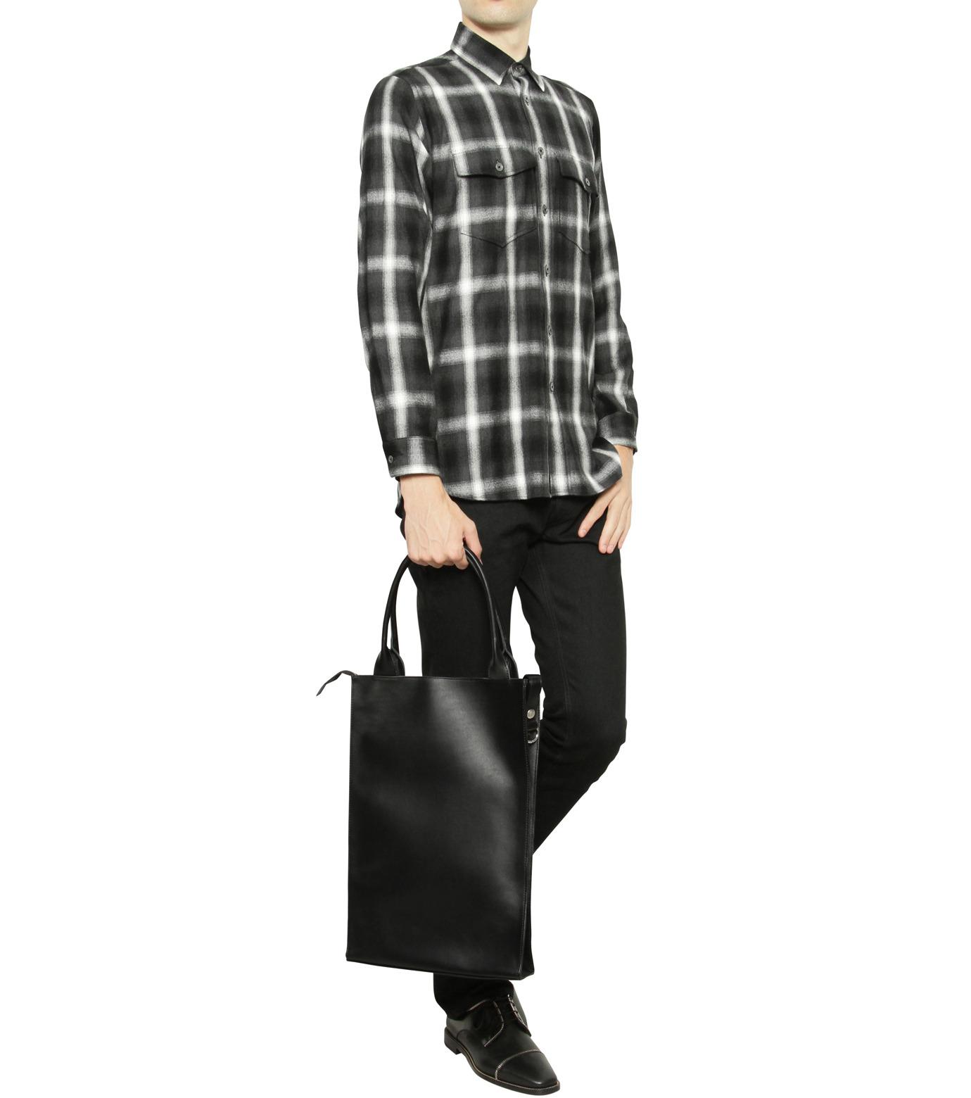 HL HEDDIE LOVU(エイチエル・エディールーヴ)のHL Tote Bag-BLACK(バッグ/bag)-16A90007-13 拡大詳細画像5