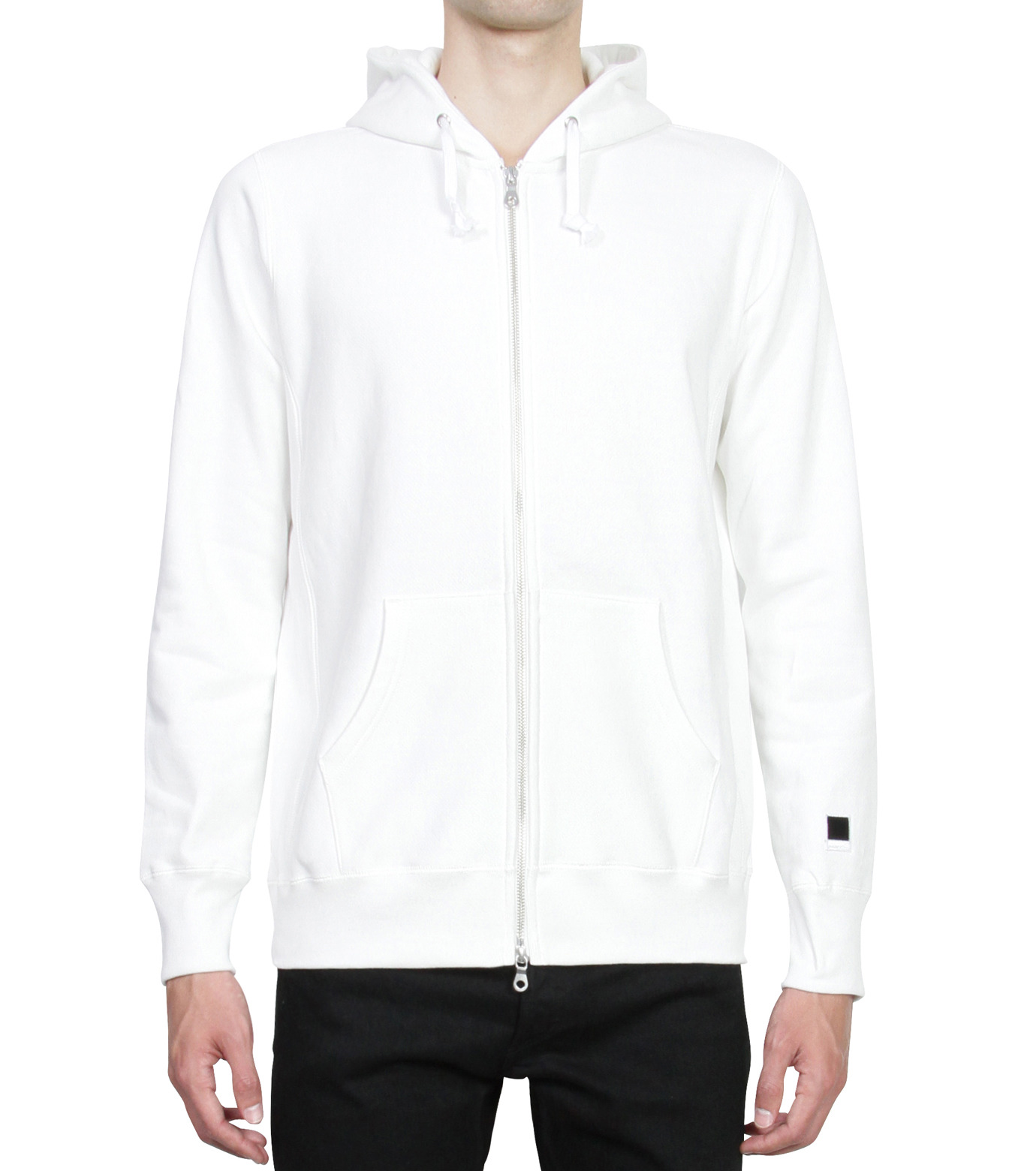 HL HEDDIE LOVU(エイチエル・エディールーヴ)のHL Hooded ZIP-WHITE(カットソー/cut and sewn)-16A92007-4 拡大詳細画像1
