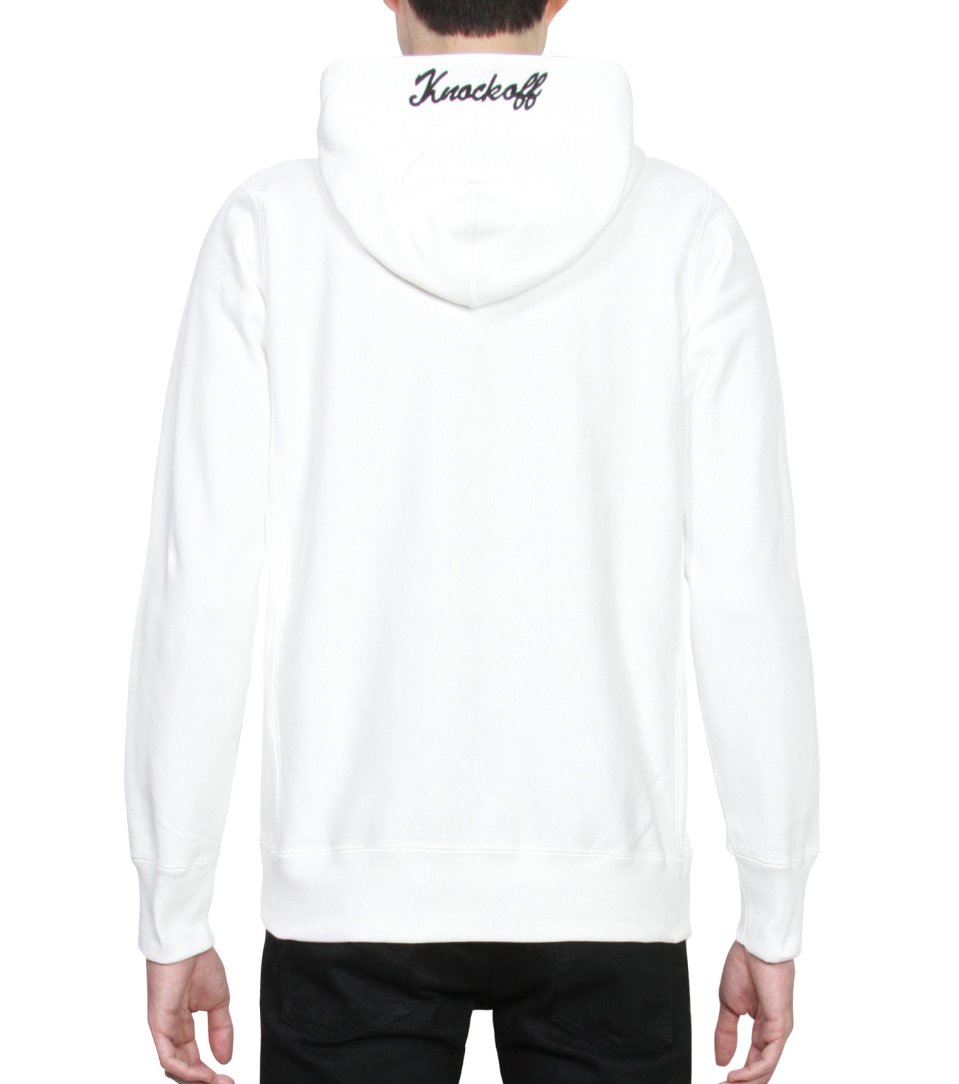 HL HEDDIE LOVU(エイチエル・エディールーヴ)のHL Hooded ZIP-WHITE(カットソー/cut and sewn)-16A92007-4 拡大詳細画像2