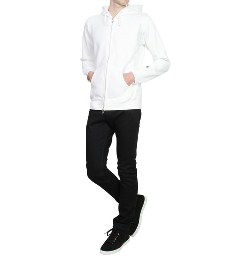 HL HEDDIE LOVU(エイチエル・エディールーヴ)のHL Hooded ZIP-WHITE(カットソー/cut and sewn)-16A92007-4 詳細画像3