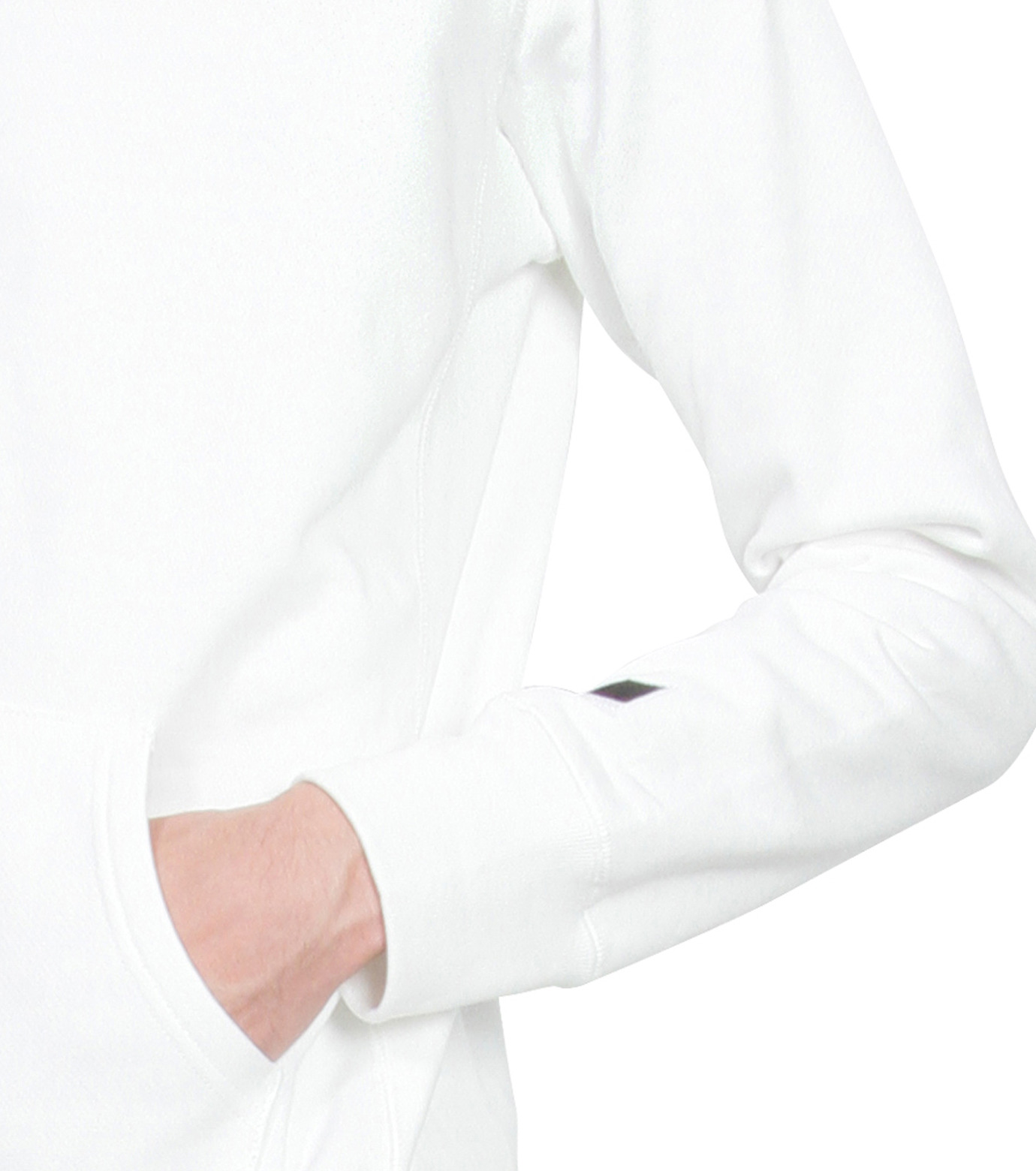 HL HEDDIE LOVU(エイチエル・エディールーヴ)のHL Hooded ZIP-WHITE(カットソー/cut and sewn)-16A92007-4 拡大詳細画像4