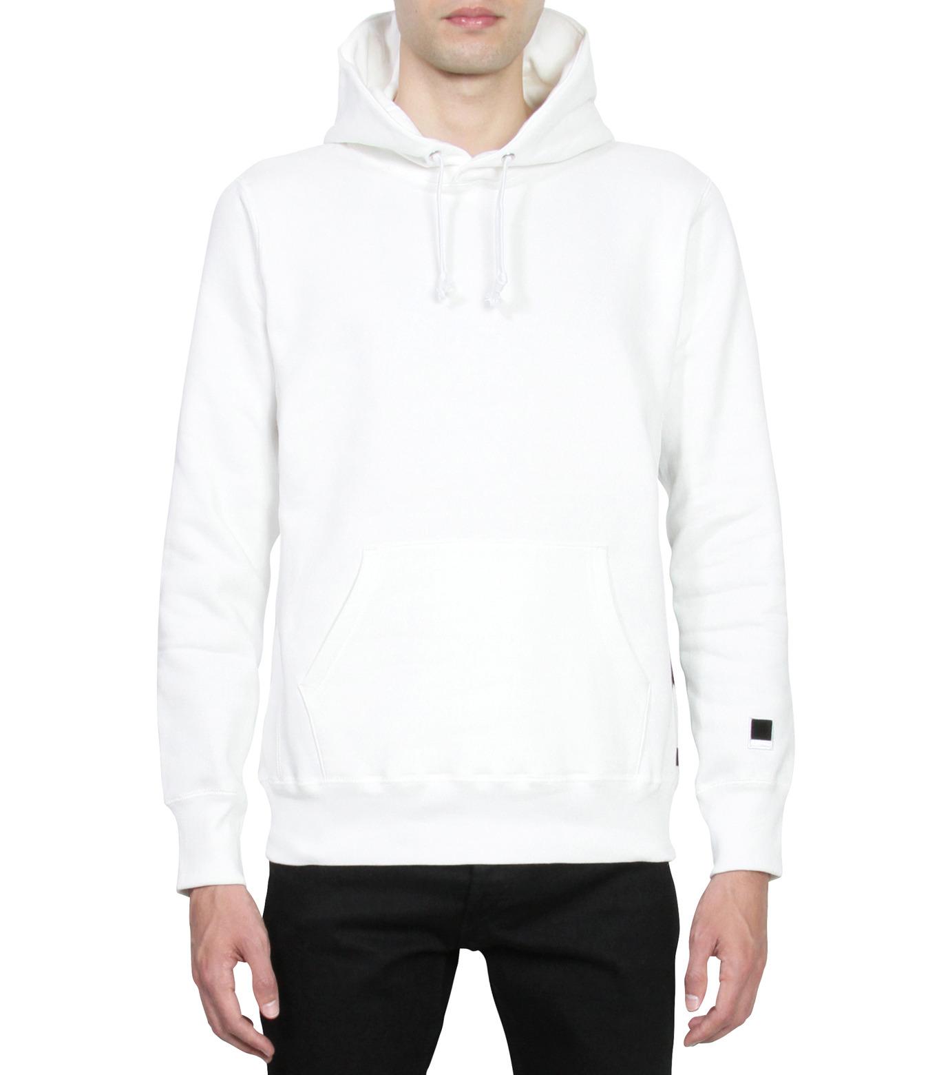 HL HEDDIE LOVU(エイチエル・エディールーヴ)のHL Hooded P/O-WHITE(カットソー/cut and sewn)-16A92008-4 拡大詳細画像1
