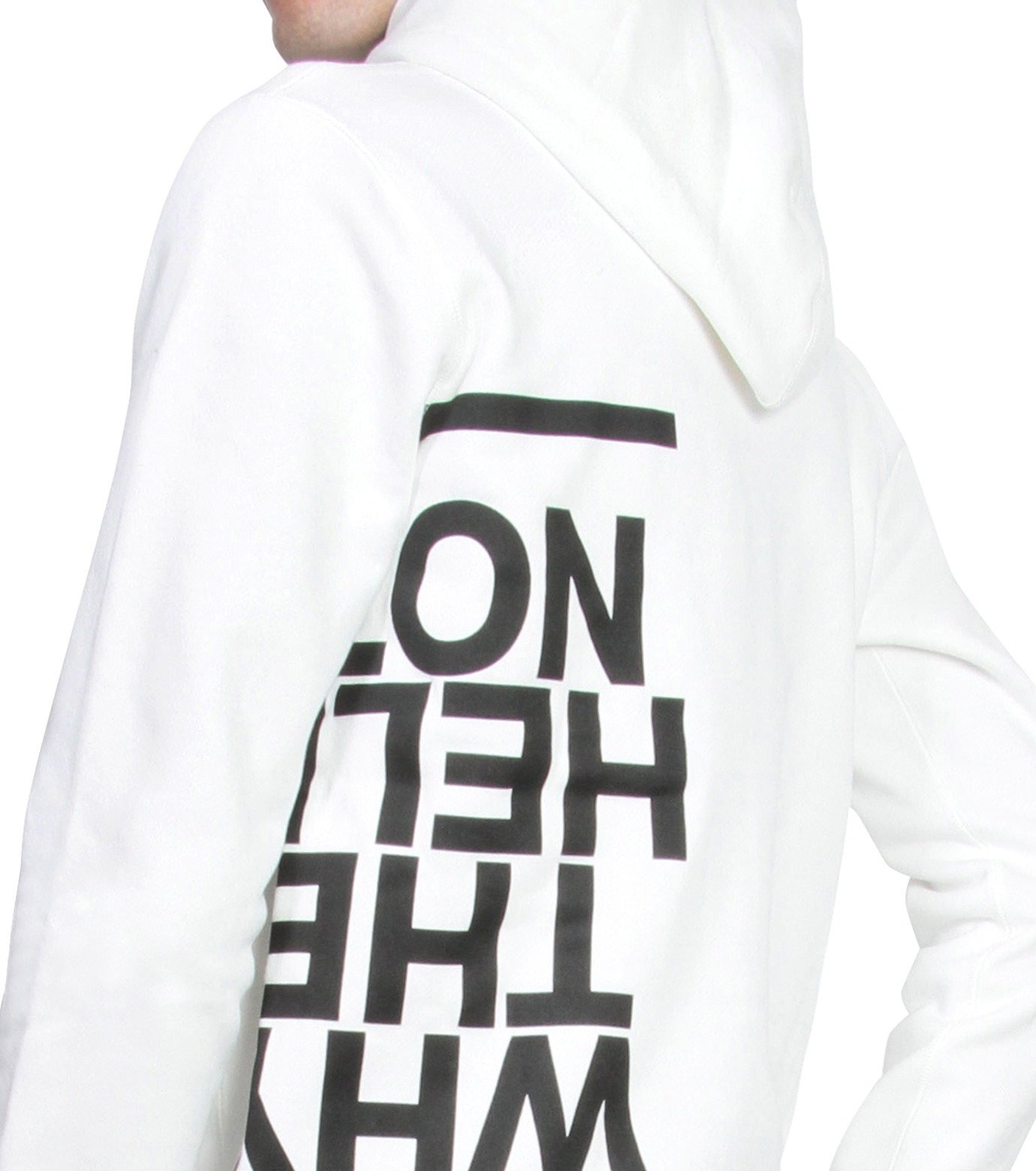 HL HEDDIE LOVU(エイチエル・エディールーヴ)のHL Hooded P/O-WHITE(カットソー/cut and sewn)-16A92008-4 拡大詳細画像5