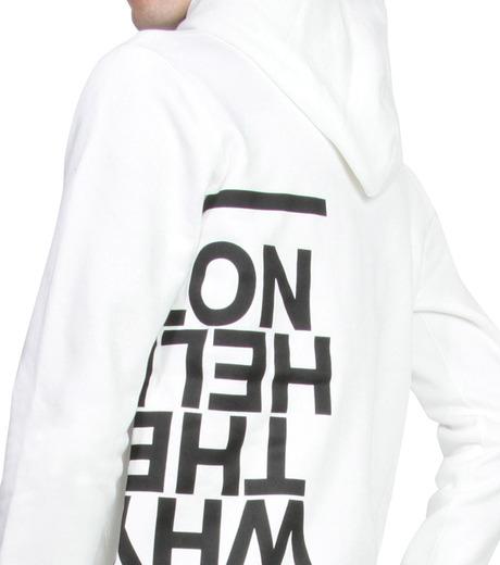 HL HEDDIE LOVU(エイチエル・エディールーヴ)のHL Hooded P/O-WHITE(カットソー/cut and sewn)-16A92008-4 詳細画像5