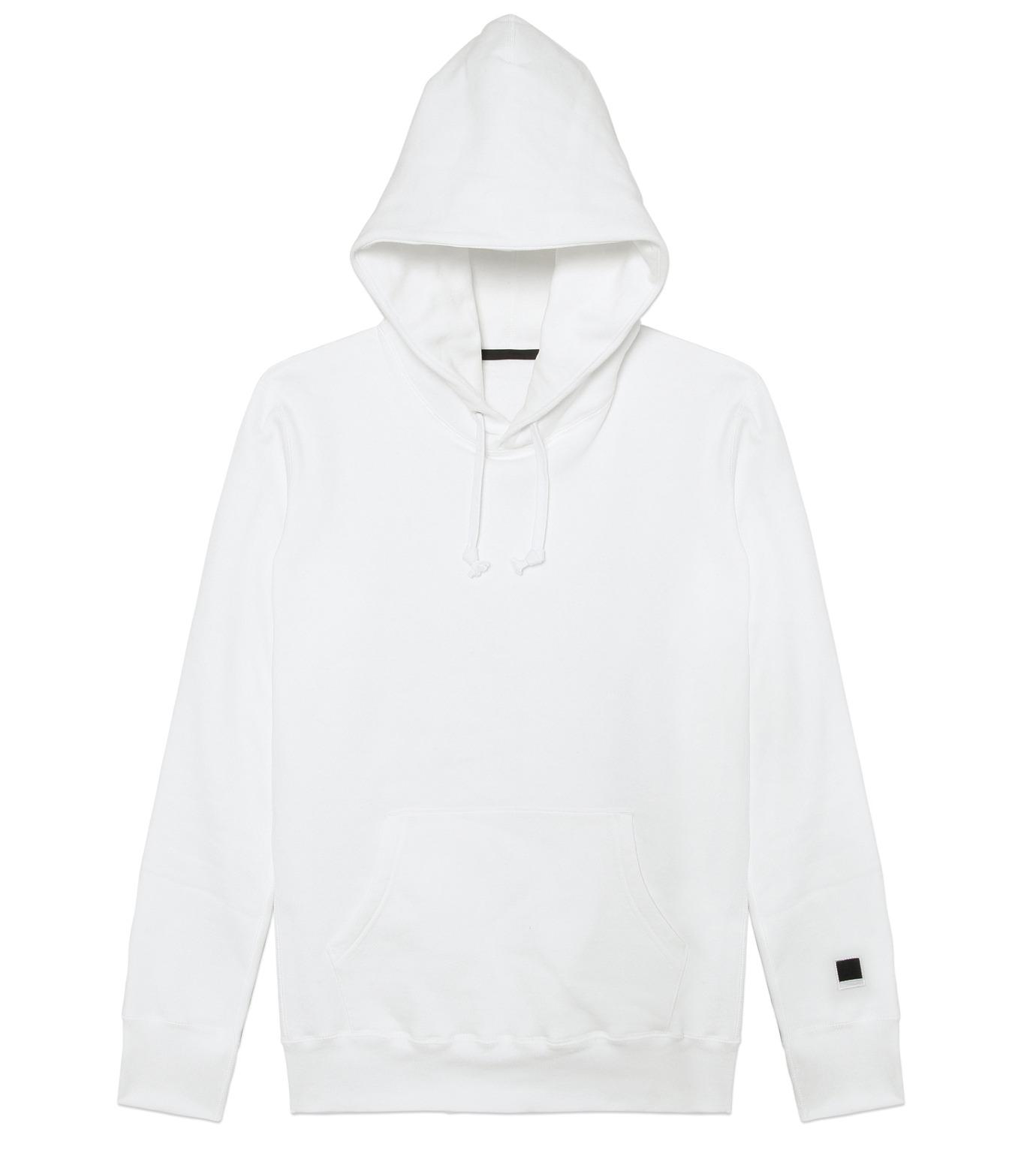 HL HEDDIE LOVU(エイチエル・エディールーヴ)のHL Hooded P/O-WHITE(カットソー/cut and sewn)-16A92008-4 拡大詳細画像6