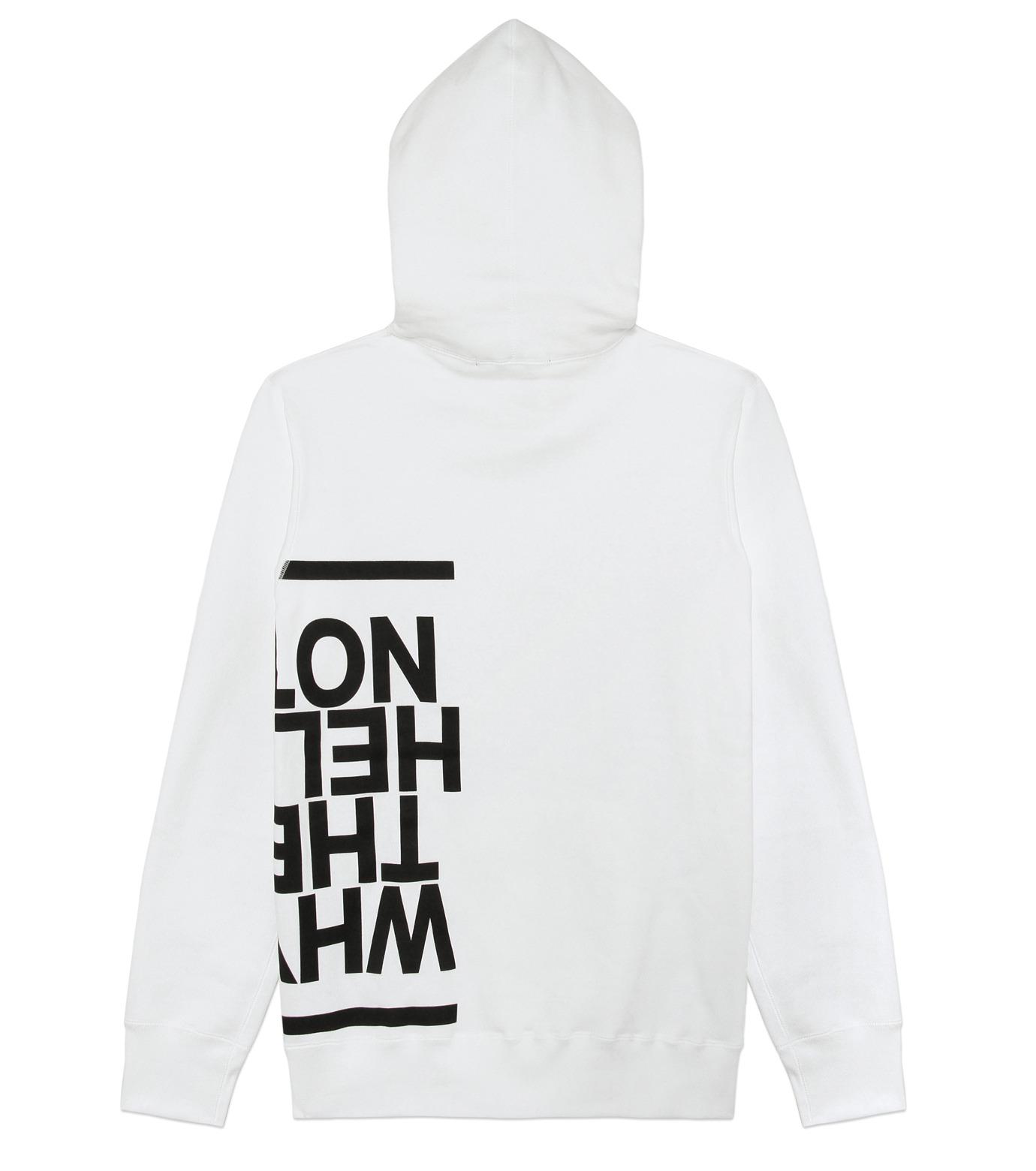HL HEDDIE LOVU(エイチエル・エディールーヴ)のHL Hooded P/O-WHITE(カットソー/cut and sewn)-16A92008-4 拡大詳細画像7