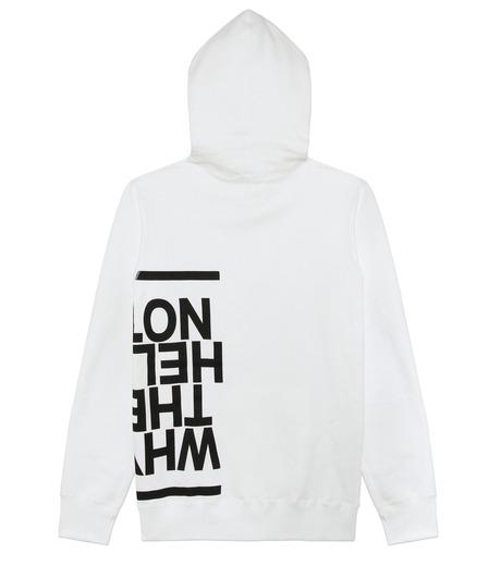 HL HEDDIE LOVU(エイチエル・エディールーヴ)のHL Hooded P/O-WHITE(カットソー/cut and sewn)-16A92008-4 詳細画像7