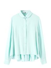 LE CIEL BLEU Spring Color Flare Shirt