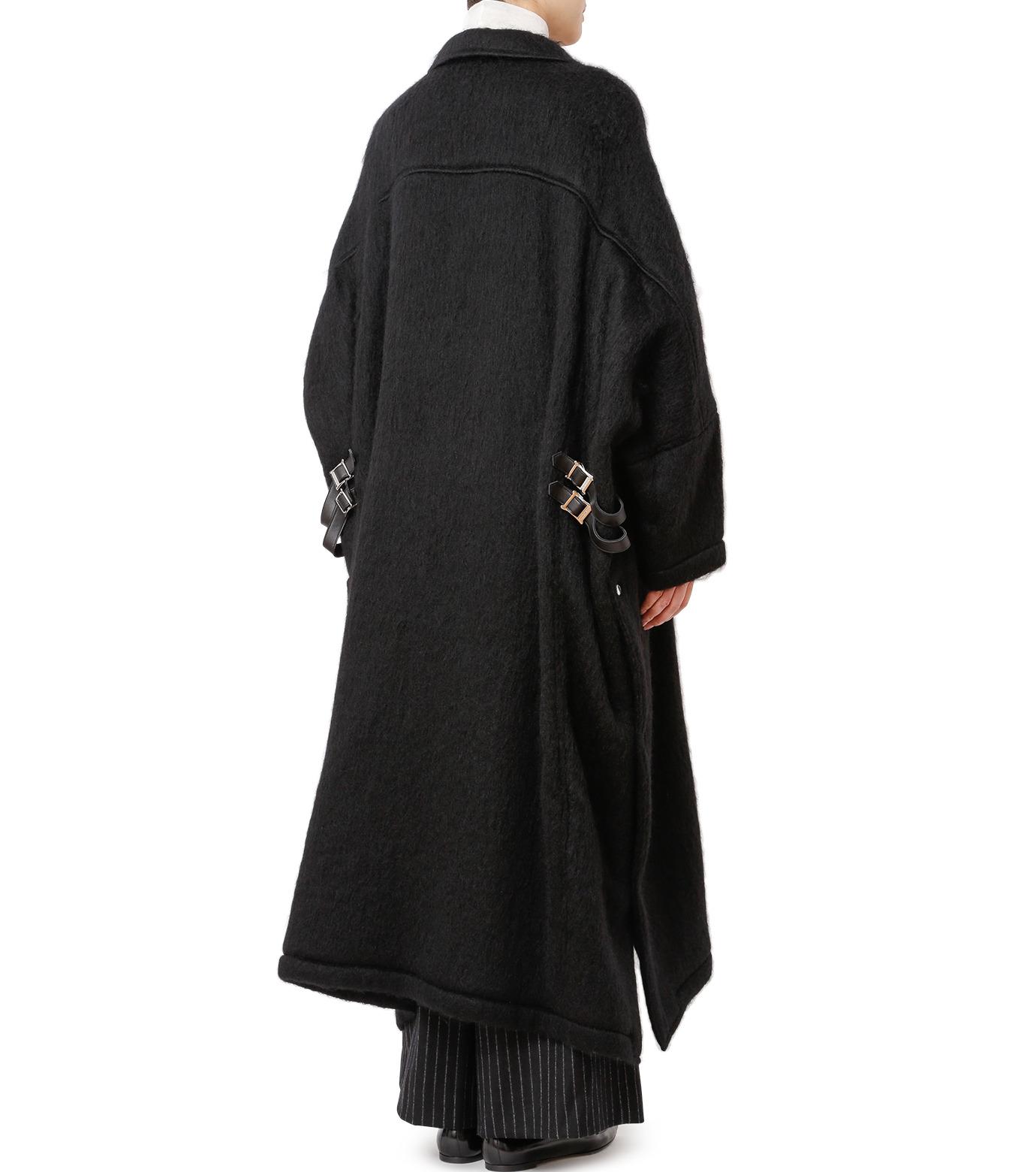CHRISTIAN DADA(クリスチャン ダダ)のOversized Motorcycle Coat-BLACK(コート/coat)-16W-D-0301-13 拡大詳細画像2
