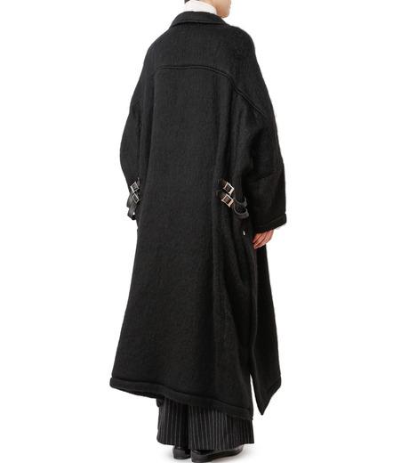 CHRISTIAN DADA(クリスチャン ダダ)のOversized Motorcycle Coat-BLACK(コート/coat)-16W-D-0301-13 詳細画像2
