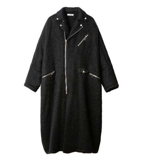 CHRISTIAN DADA(クリスチャン ダダ)のOversized Motorcycle Coat-BLACK(コート/coat)-16W-D-0301-13 詳細画像4