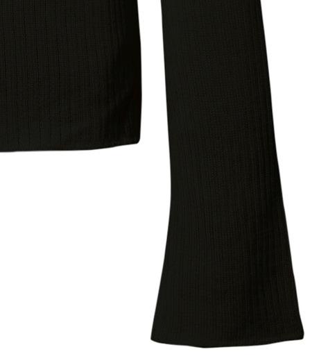 CHRISTIAN DADA(クリスチャン ダダ)のRib Turtleneck Bowtie Detail-BLACK(ニット/knit)-16W-D-0811-13 詳細画像4