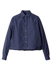 KOLOR(カラー) Shirt w/Back Ruffle Detail