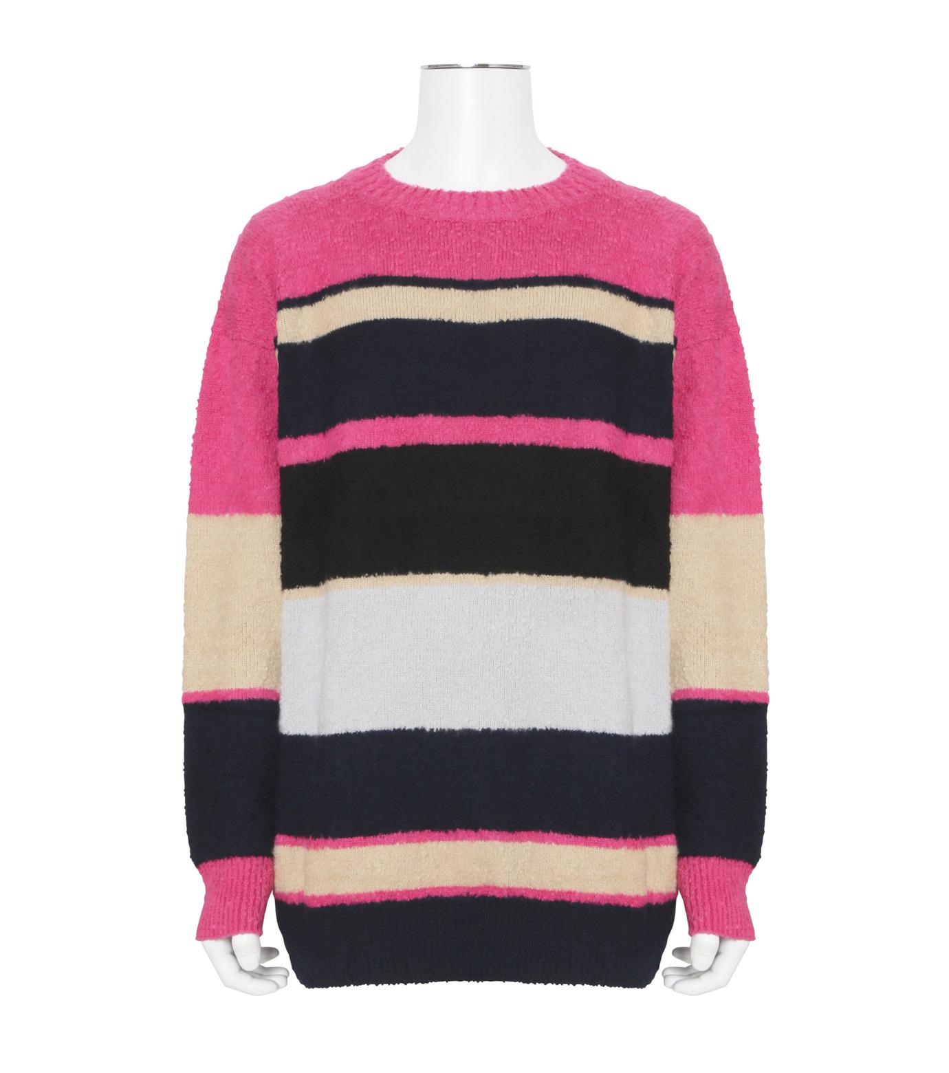 Sacai(サカイ)のPattern Knit-PINK(ニット/knit)-17-01217M-72 拡大詳細画像1
