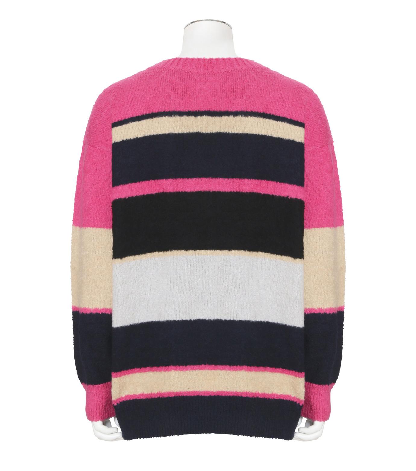 Sacai(サカイ)のPattern Knit-PINK(ニット/knit)-17-01217M-72 拡大詳細画像2