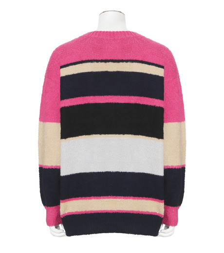 Sacai(サカイ)のPattern Knit-PINK(ニット/knit)-17-01217M-72 詳細画像2