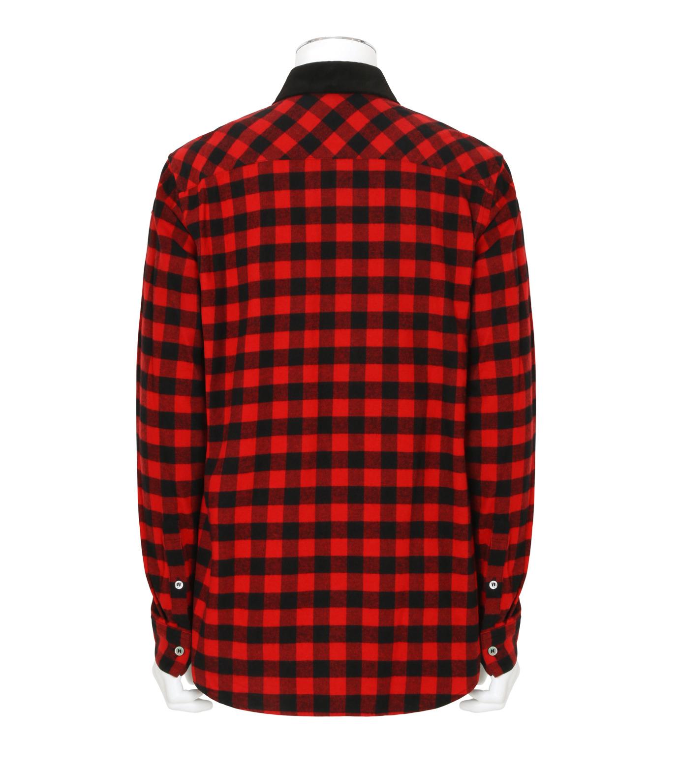 Sacai(サカイ)のTartan Check Shirt-RED(シャツ/shirt)-17-01237M-62 拡大詳細画像2
