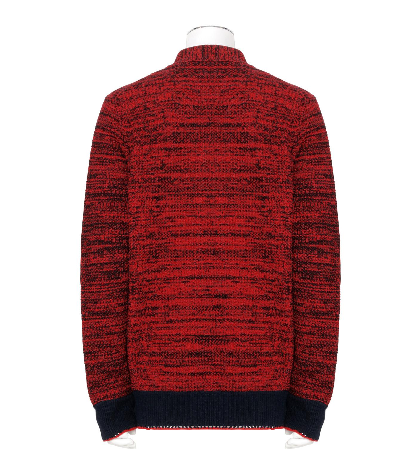 Sacai(サカイ)のKnit Cardigan-RED(ニット/knit)-17-01243M-62 拡大詳細画像2