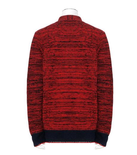 Sacai(サカイ)のKnit Cardigan-RED(ニット/knit)-17-01243M-62 詳細画像2