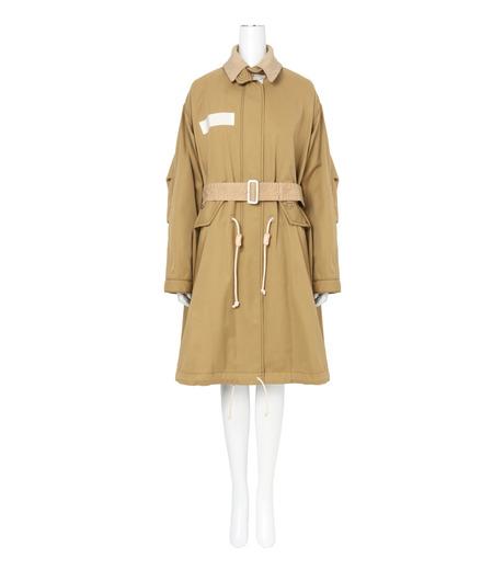 Sacai(サカイ)のCotton Twill Coat-BEIGE(コート/coat)-17-02931-52 詳細画像1