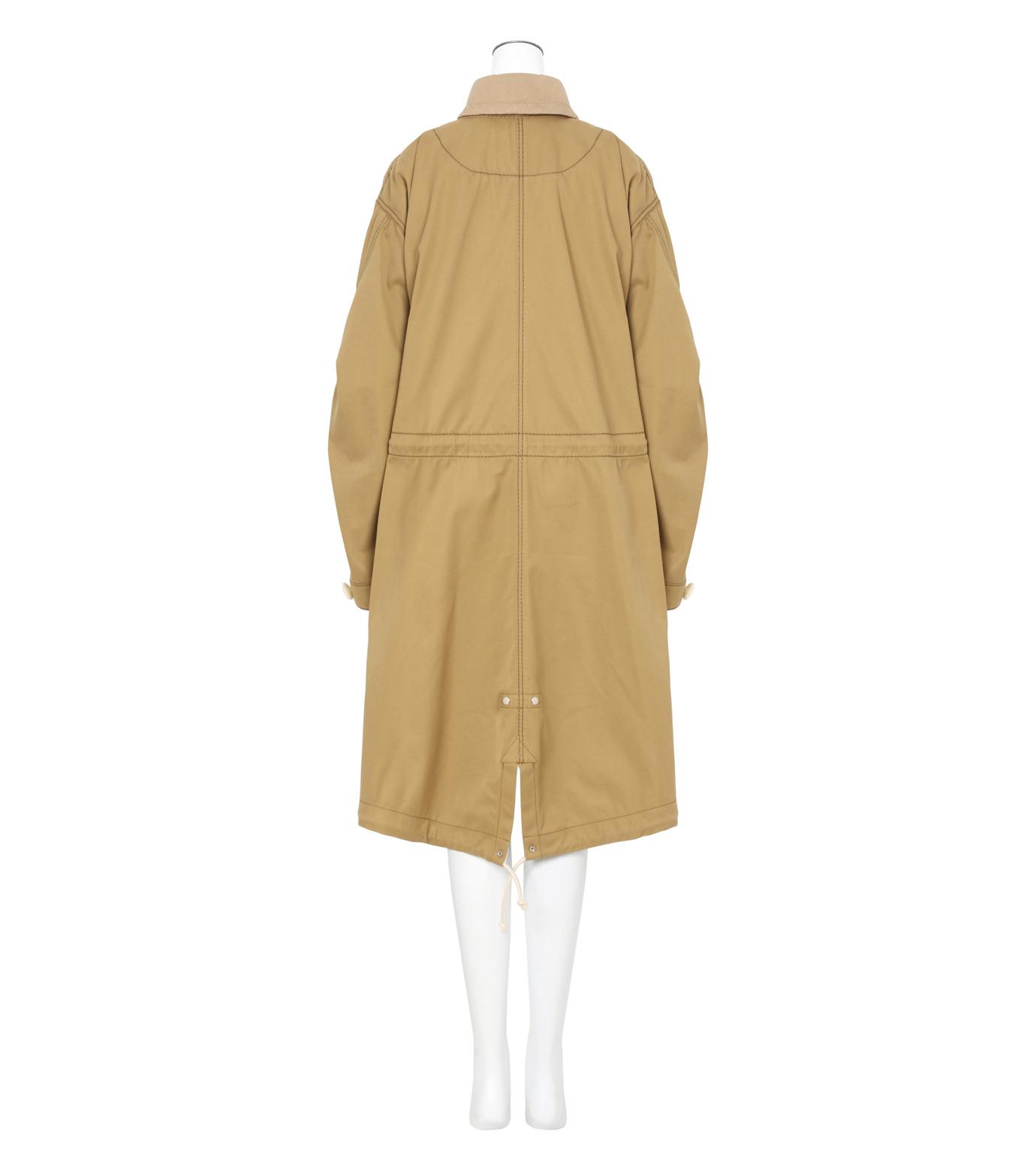 Sacai(サカイ)のCotton Twill Coat-BEIGE(コート/coat)-17-02931-52 拡大詳細画像2