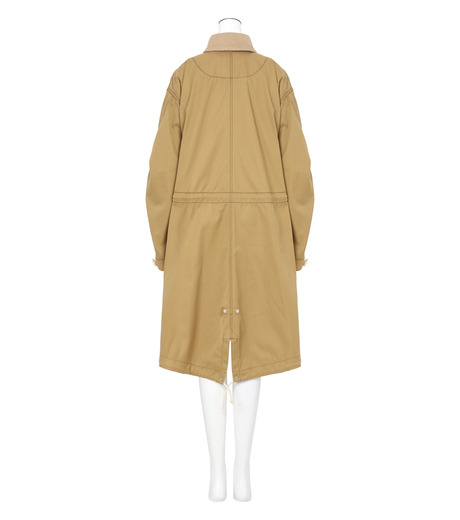 Sacai(サカイ)のCotton Twill Coat-BEIGE(コート/coat)-17-02931-52 詳細画像2