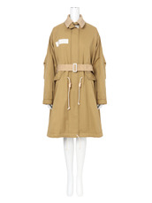 Sacai Cotton Twill Coat