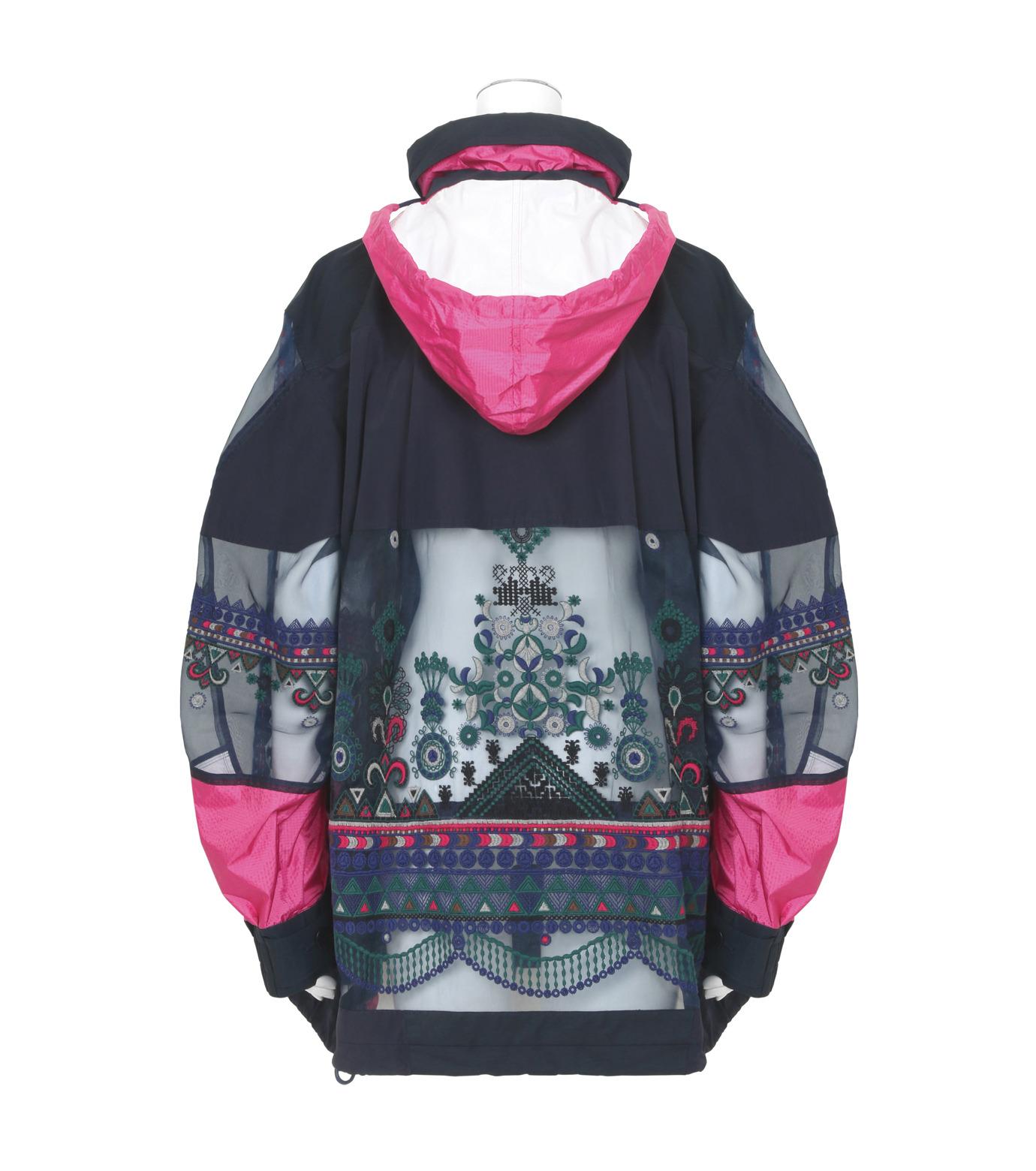Sacai(サカイ)のTribal Lace Blouson-NAVY(ブルゾン/blouson)-17-02936-93 拡大詳細画像2