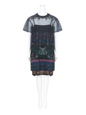 Sacai Tribal Lace Tunic Dress