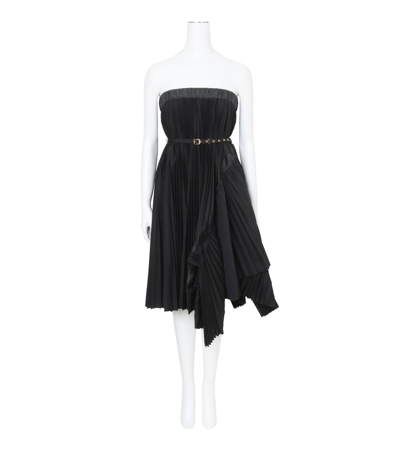Sacai(サカイ)のClassic Shirting Tube Dress-BLACK(ワンピース/one piece)-17-02967-13 拡大詳細画像1