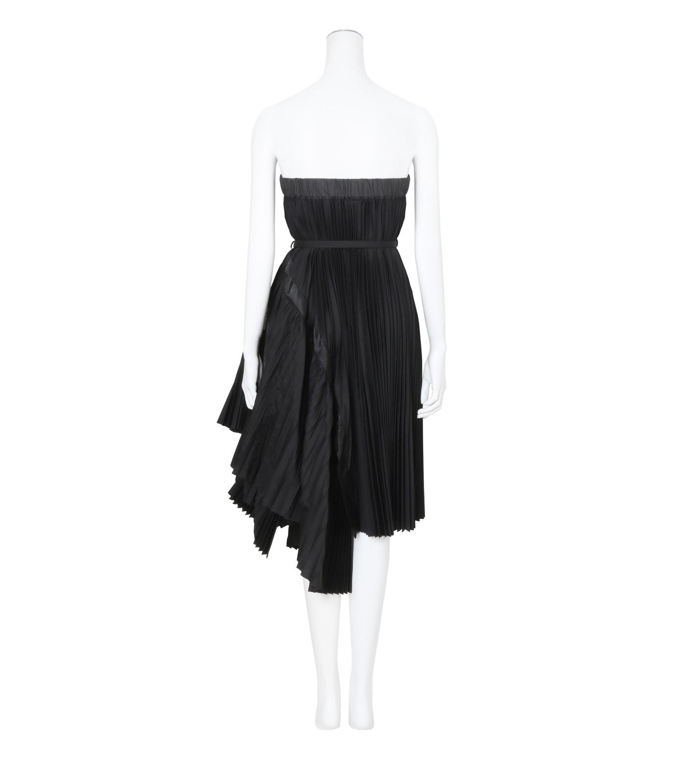 Sacai(サカイ)のClassic Shirting Tube Dress-BLACK(ワンピース/one piece)-17-02967-13 拡大詳細画像2