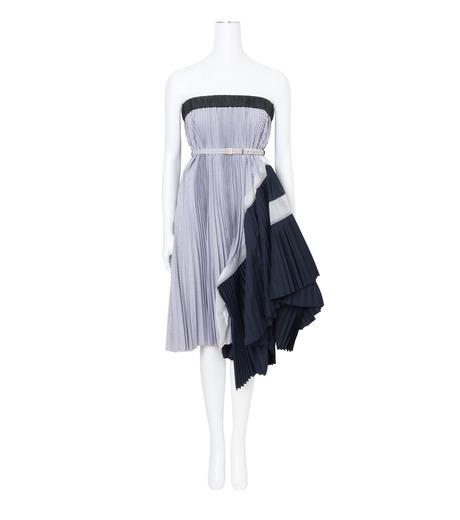 Sacai(サカイ)のClassic Shirting Tube Dress-LIGHT BLUE(ワンピース/one piece)-17-02967-91 詳細画像1