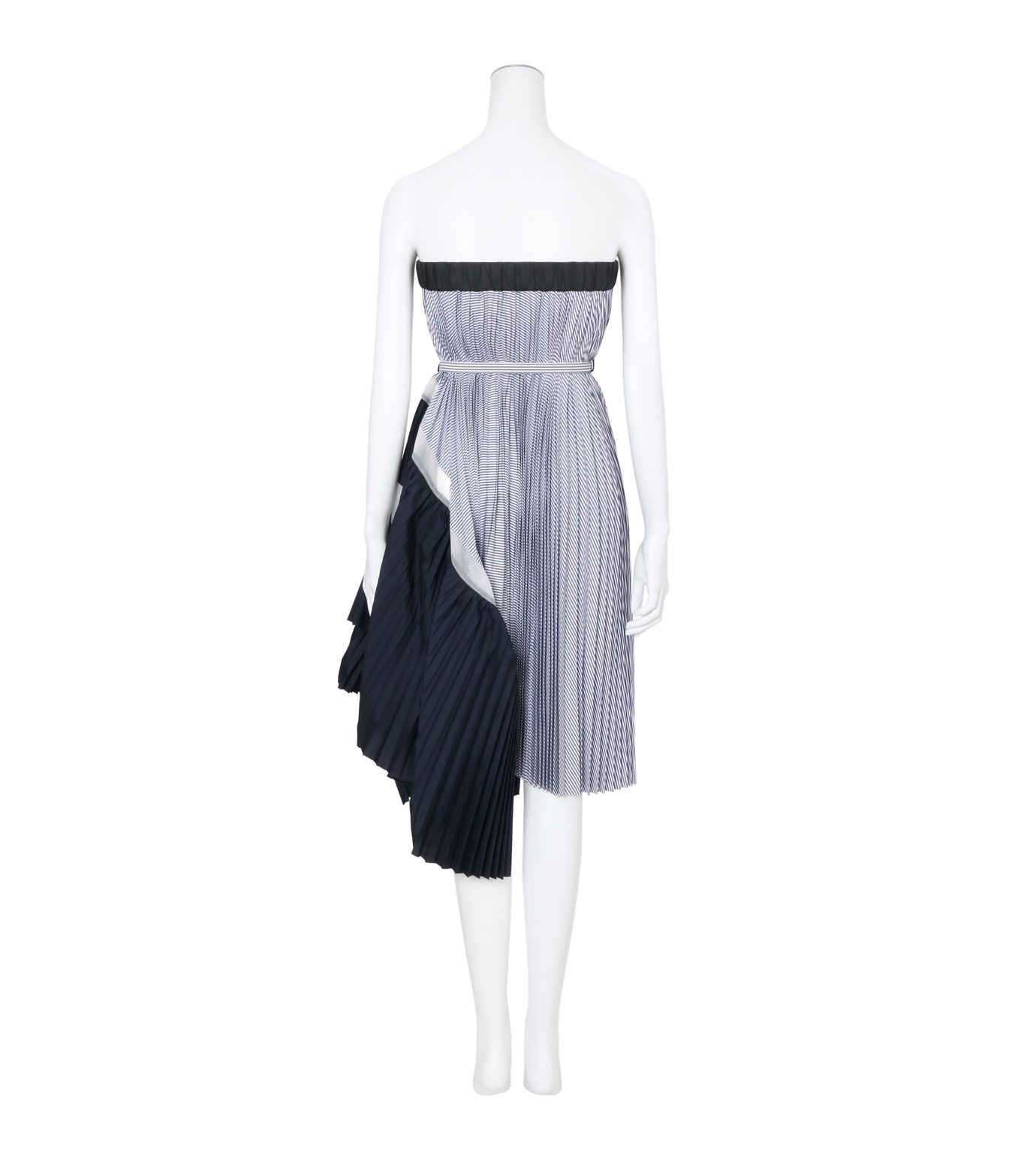 Sacai(サカイ)のClassic Shirting Tube Dress-LIGHT BLUE(ワンピース/one piece)-17-02967-91 拡大詳細画像2