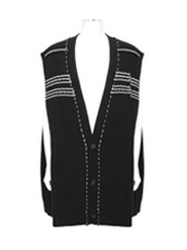 RAF SIMONS(ラフシモンズ) Oversized Sleeveless Cardigan