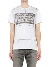 Alexander McQueen Logo Print T Shirt