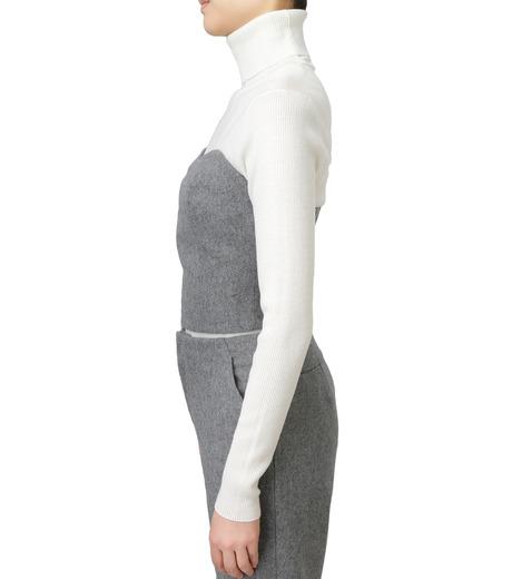 LE CIEL BLEU(ルシェルブルー)のウールベアトップス-GRAY(カットソー/cut and sewn)-17A63016 詳細画像2