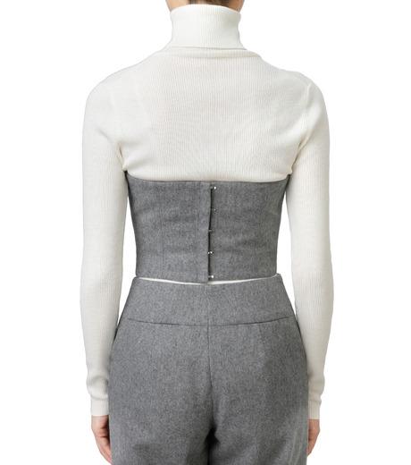 LE CIEL BLEU(ルシェルブルー)のウールベアトップス-GRAY(カットソー/cut and sewn)-17A63016 詳細画像3