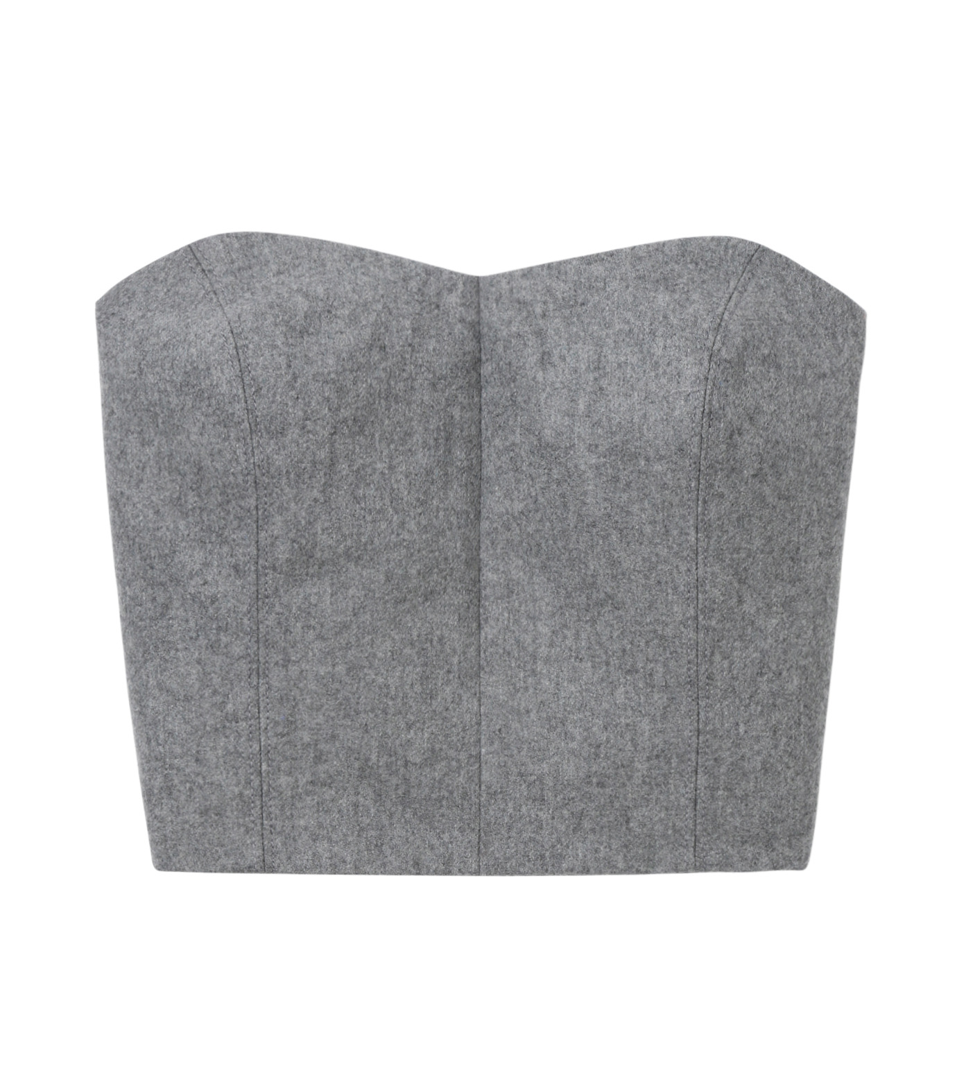 LE CIEL BLEU(ルシェルブルー)のウールベアトップス-GRAY(カットソー/cut and sewn)-17A63016 拡大詳細画像5