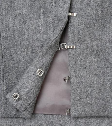 LE CIEL BLEU(ルシェルブルー)のウールベアトップス-GRAY(カットソー/cut and sewn)-17A63016 詳細画像6