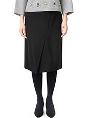 LE CIEL BLEU ストレートラップタイトスカート
