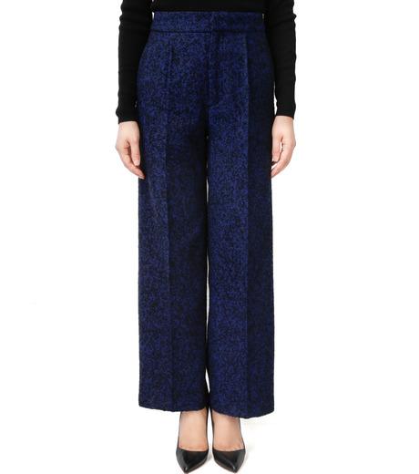 LE CIEL BLEU(ルシェルブルー)のツイードプレスパンツ-NAVY(パンツ/pants)-17A68020 詳細画像1