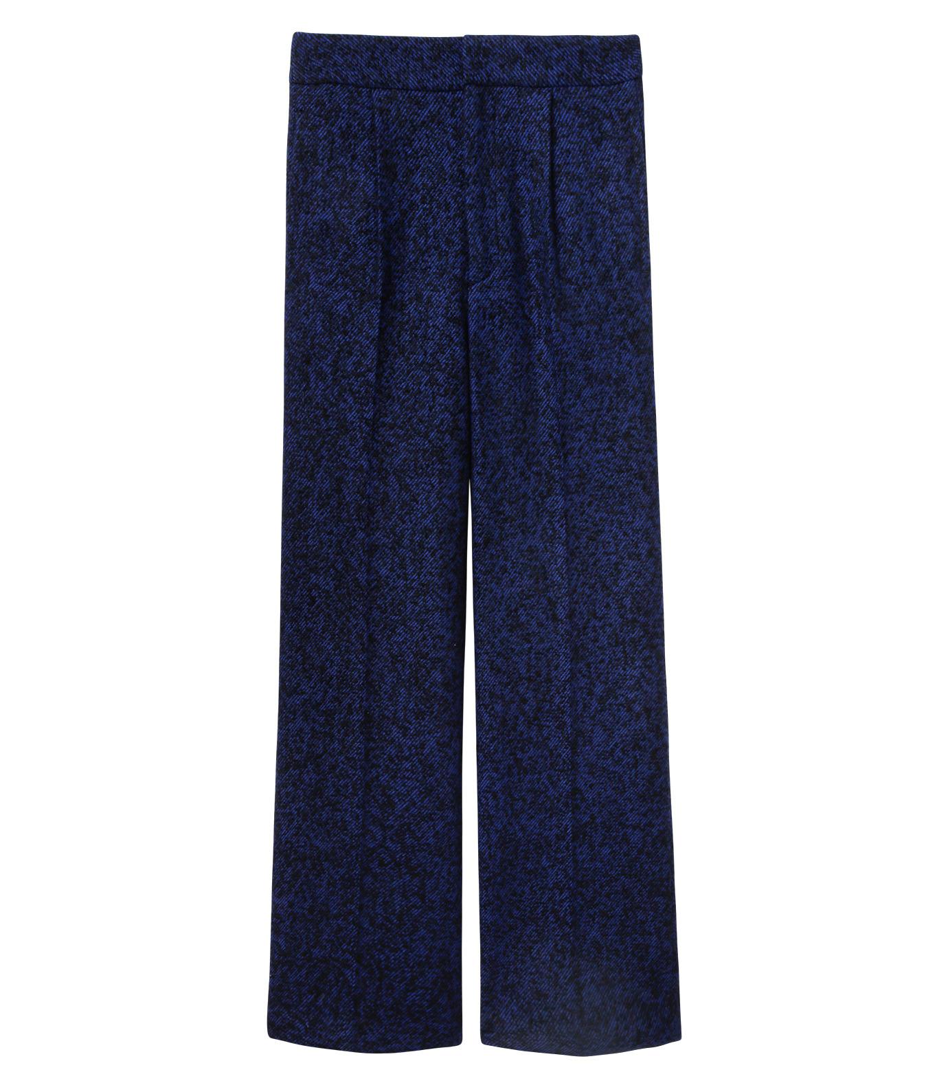 LE CIEL BLEU(ルシェルブルー)のツイードプレスパンツ-NAVY(パンツ/pants)-17A68020 拡大詳細画像5