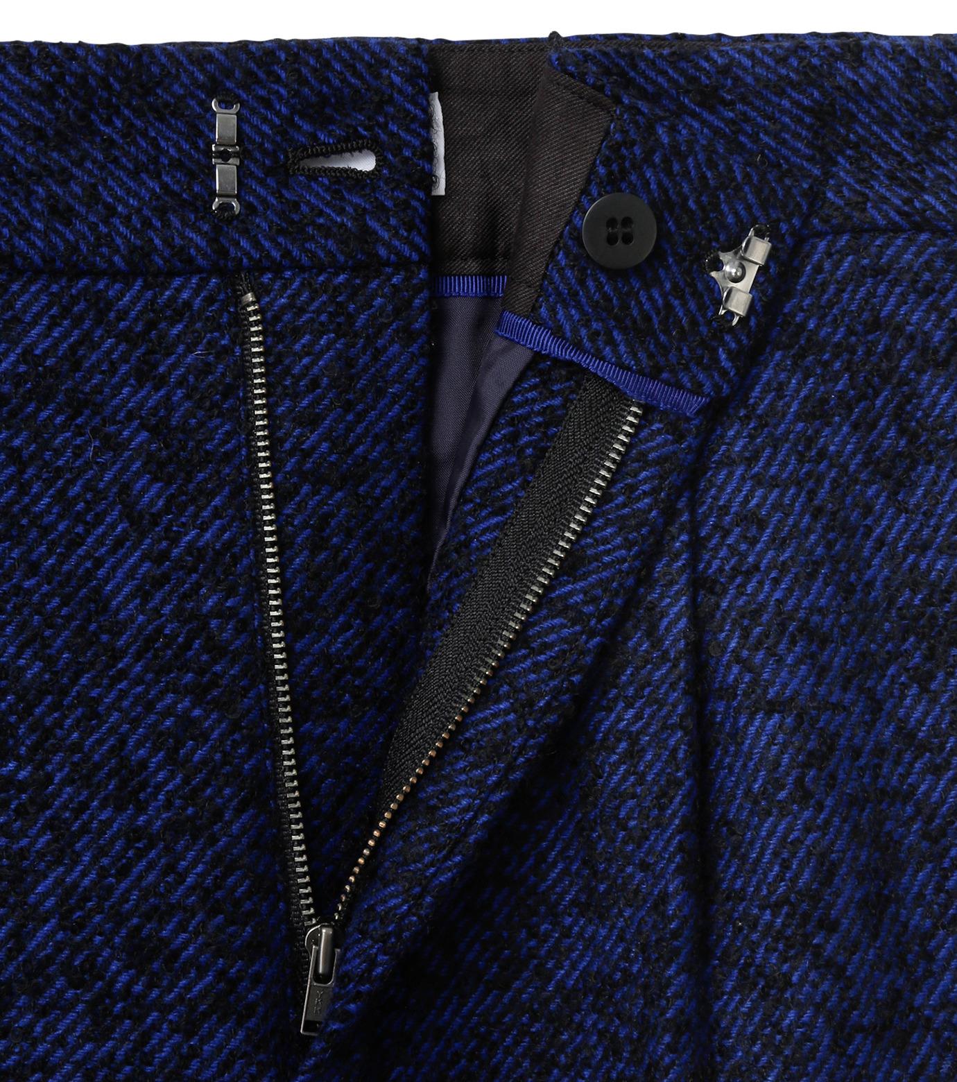 LE CIEL BLEU(ルシェルブルー)のツイードプレスパンツ-NAVY(パンツ/pants)-17A68020 拡大詳細画像6