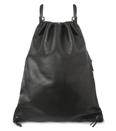 HL HEDDIE LOVU(エイチエル・エディールーヴ)のLEATHER KNAP SAC-BLACK(バッグ/bag)-17A900008-13 詳細画像1