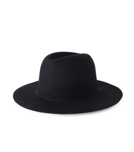 HL HEDDIE LOVU(エイチエル・エディールーヴ)のHL LONG BRIM HAT-BLACK(キャップ/cap)-17A90001-13 詳細画像1