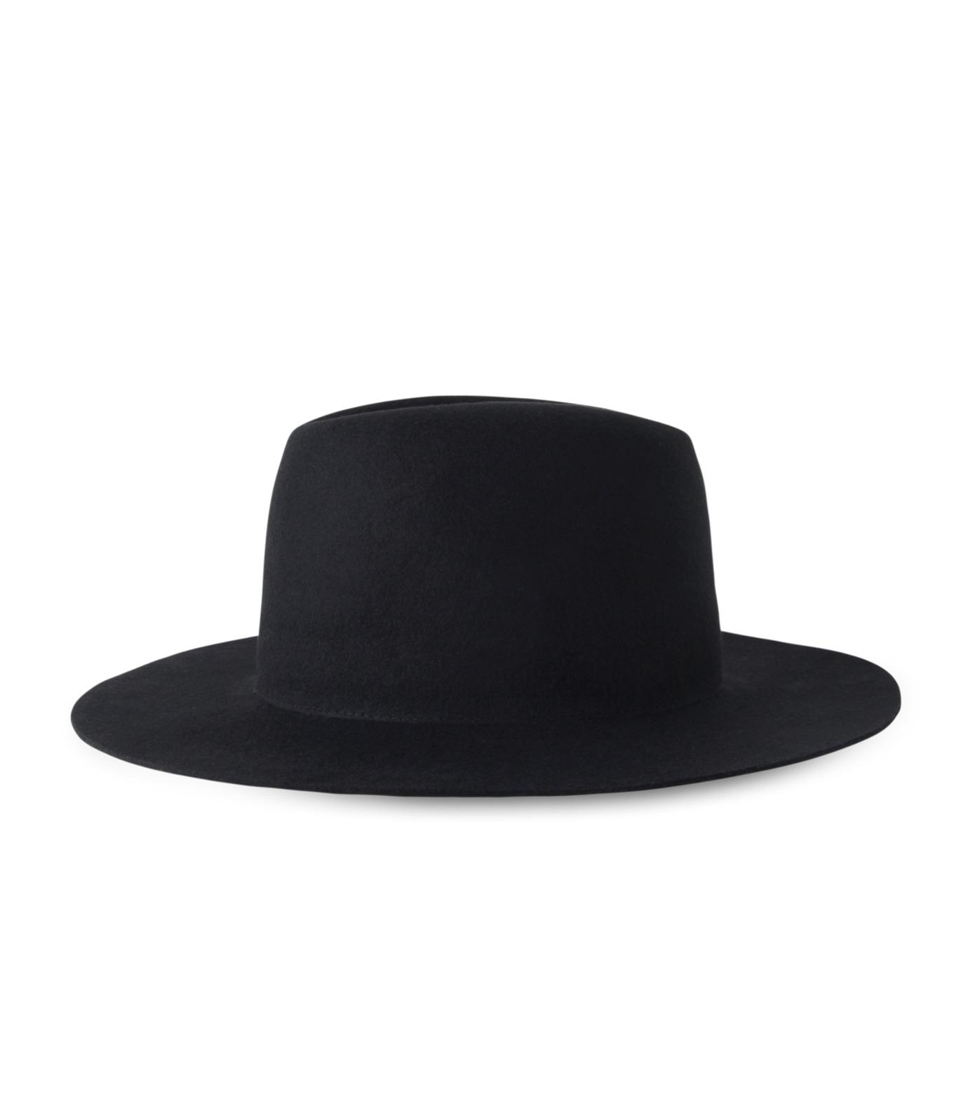 HL HEDDIE LOVU(エイチエル・エディールーヴ)のHL LONG BRIM HAT-BLACK(キャップ/cap)-17A90001-13 拡大詳細画像4