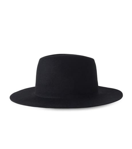 HL HEDDIE LOVU(エイチエル・エディールーヴ)のHL LONG BRIM HAT-BLACK(キャップ/cap)-17A90001-13 詳細画像4