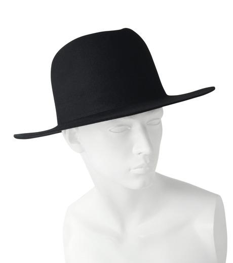 HL HEDDIE LOVU(エイチエル・エディールーヴ)のHL LONG BRIM HAT-BLACK(キャップ/cap)-17A90001-13 詳細画像5