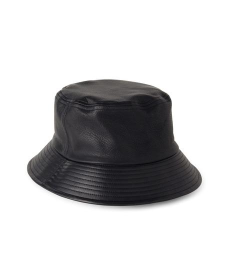 HL HEDDIE LOVU(エイチエル・エディールーヴ)のHL LEATHER BACKE-BLACK(キャップ/cap)-17A90003-13 詳細画像2