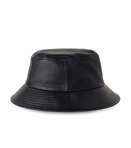 HL HEDDIE LOVU(エイチエル・エディールーヴ)のHL LEATHER BACKE-BLACK(キャップ/cap)-17A90003-13 詳細画像4